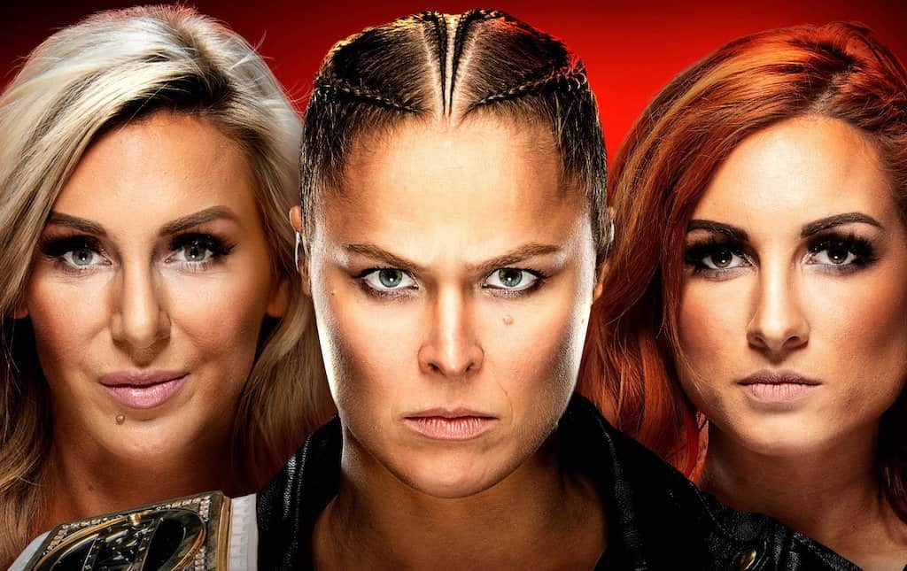 wrestlemania 35 main event rousey lynch