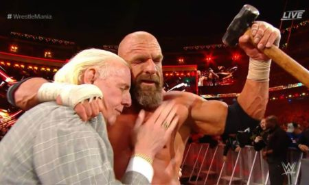 triple h wrestlemania