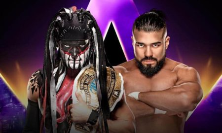 Finn Balor vs Andrade, WWE Super ShowDown