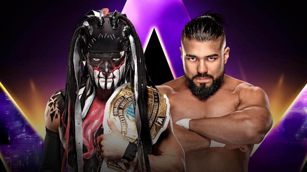 Finn Balor vs Andrade, WWE Super ShowDown