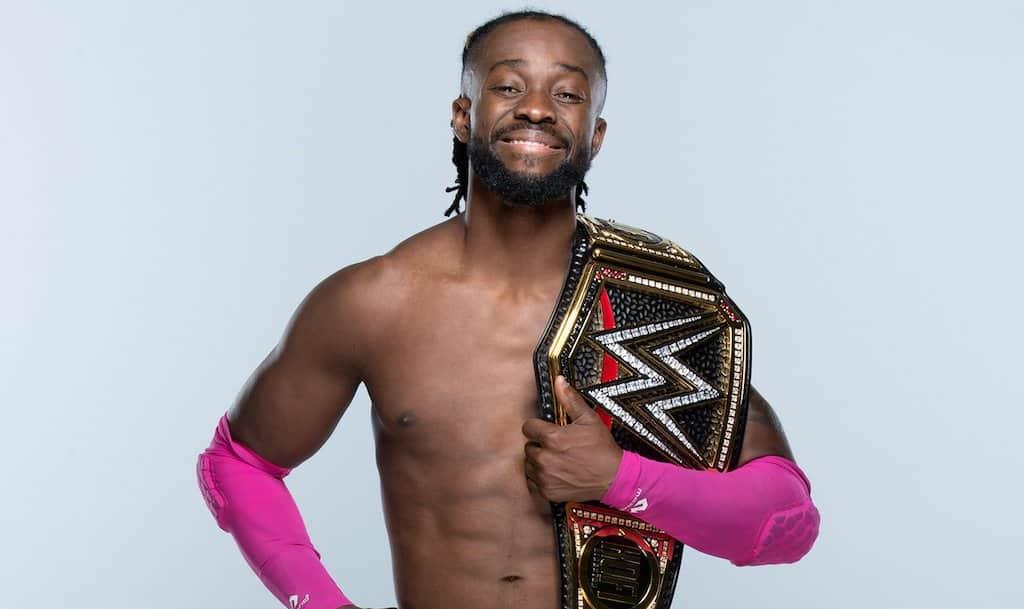 Kofi Kingston Champion WWE