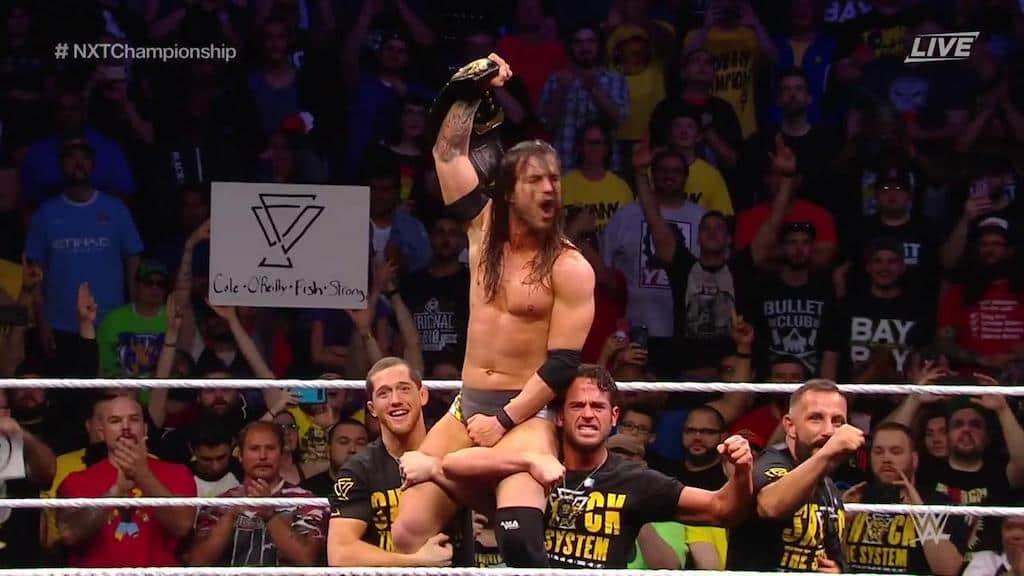 adam cole champion