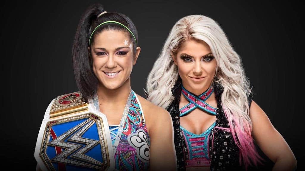 bayley alexa bliss extreme rules
