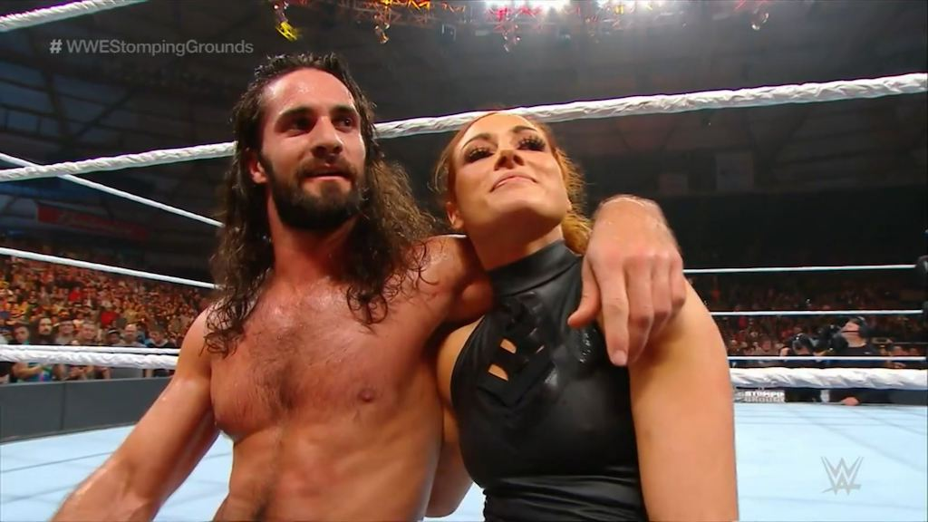 seth rollins becky lynch stomping grounds
