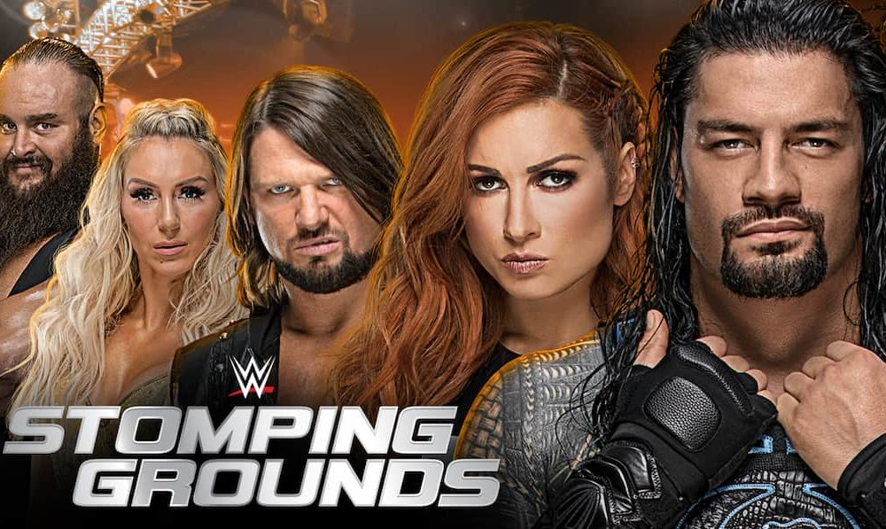 wwe stomping grounds  u2013 voxcatch
