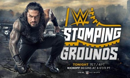 wwe stomping grounds reigns