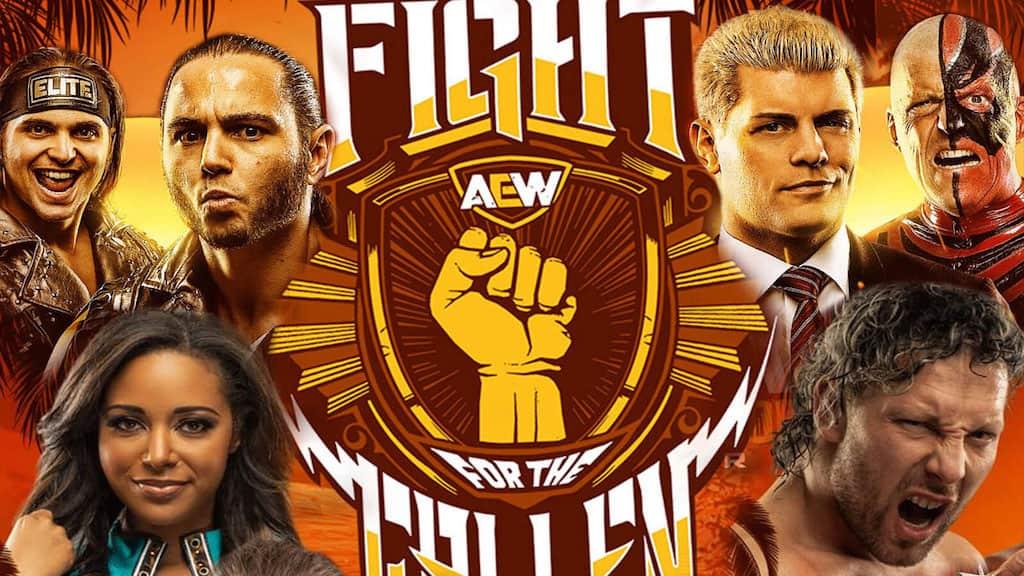 aew fight for the fallen 2019
