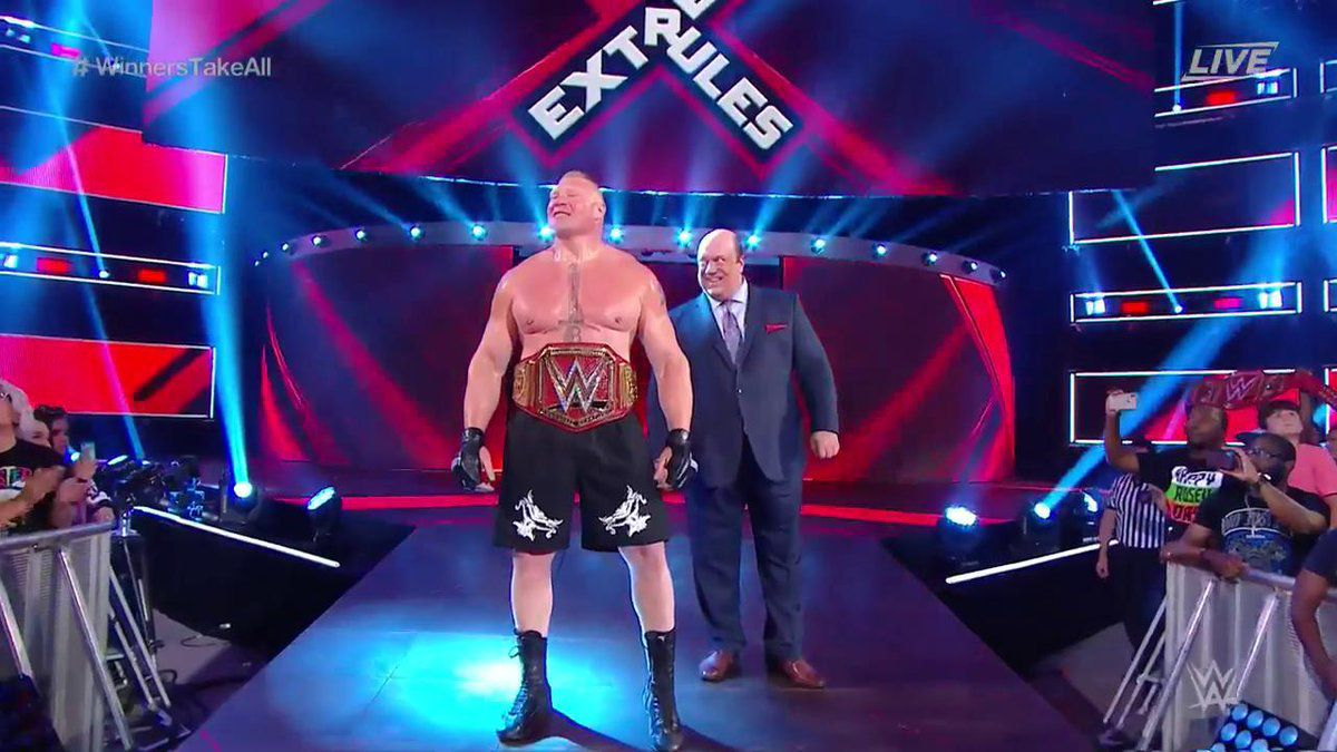 brock lesnar extreme rules