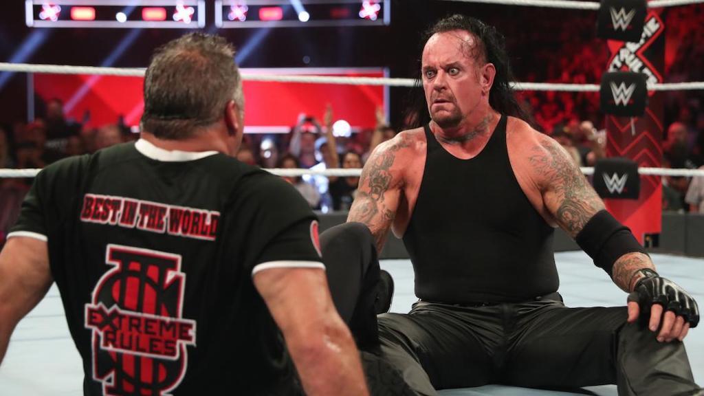 undertaker shane extreme rules