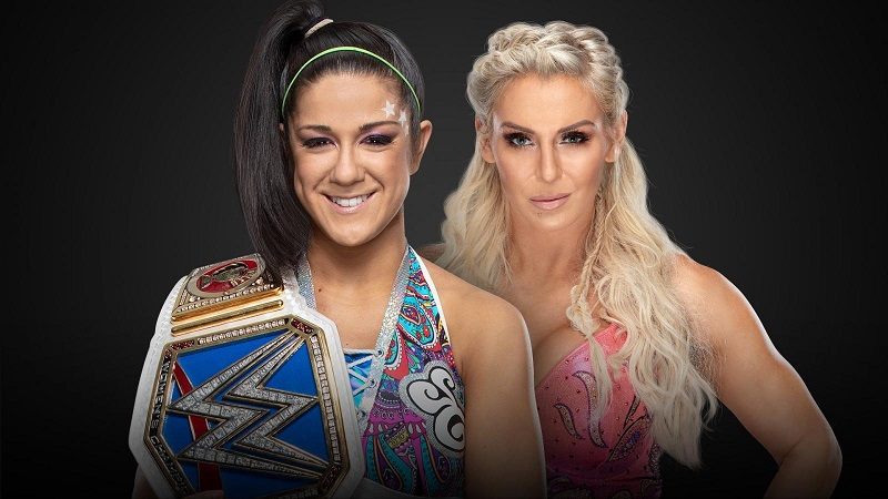 Clash of Champions Bayley Charlotte Flair