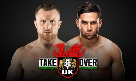 NXT UK Takeover Cardiff Noam Dar Travis Banks