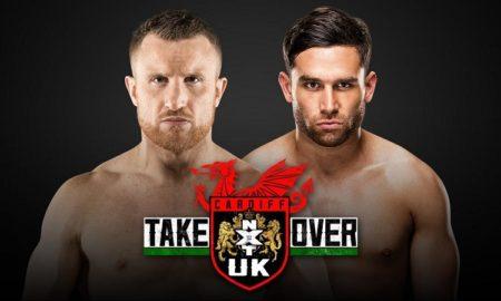 NXT UK Takeover Cardiff Noam Dar Travis Banks