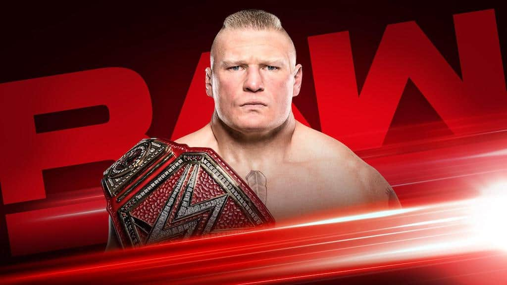 brock lesnar raw