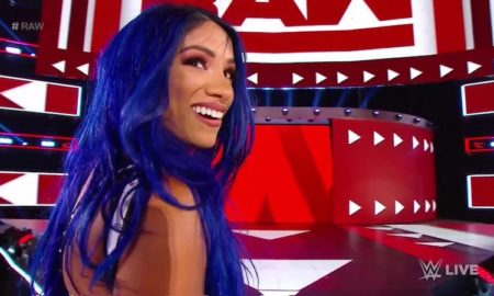 sasha banks retour raw