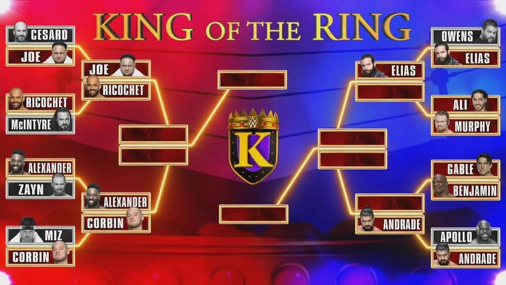 wwe kotr 2019 quarts finale raw