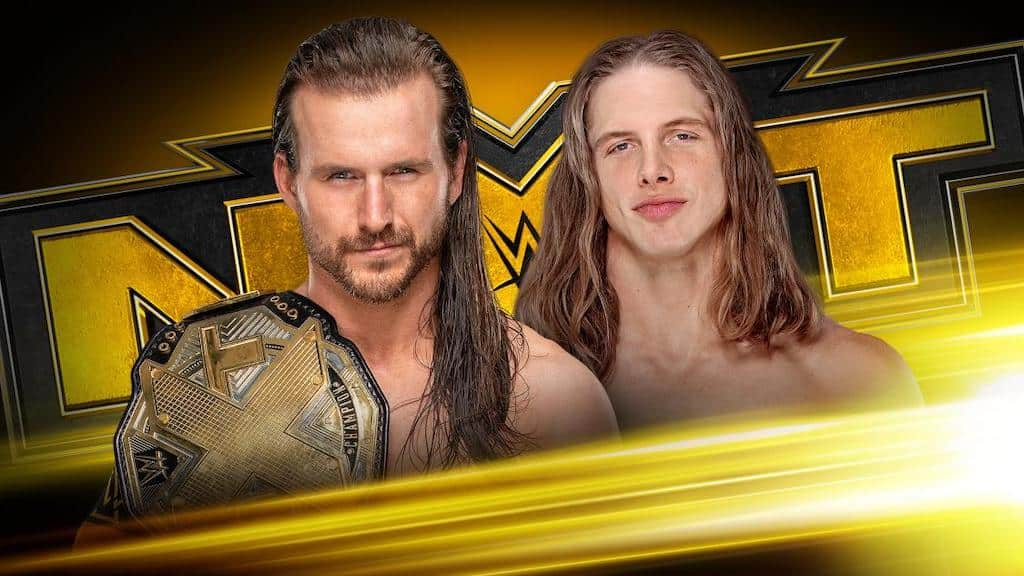 adam cole matt riddle