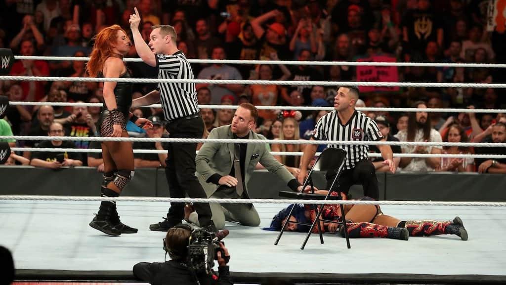becky lynch sasha banks clash of champions