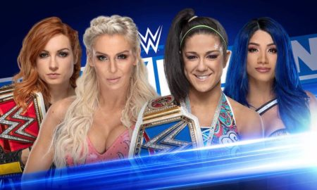 four horsewomen smackdown