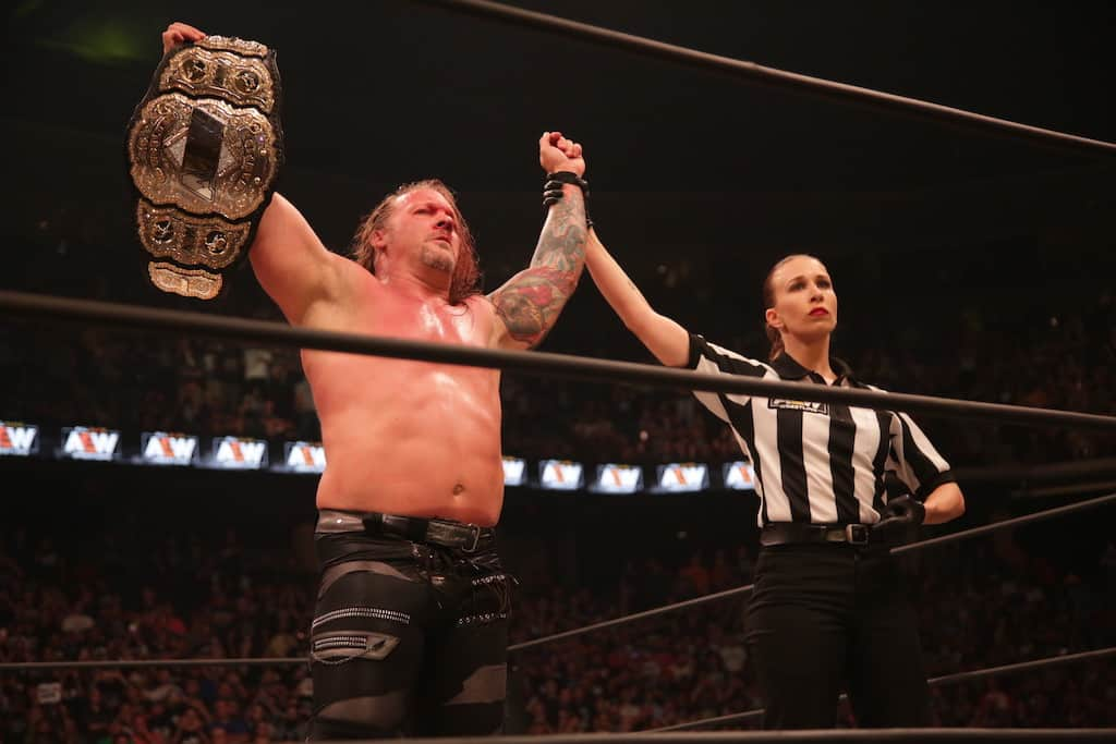 jericho all out champion aew