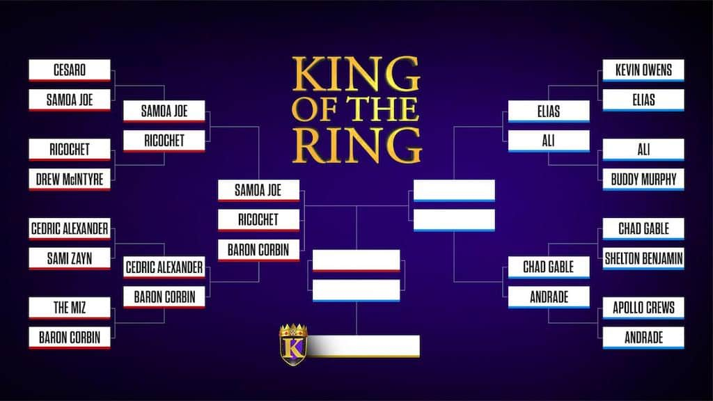 king of the ring 2019 quarts