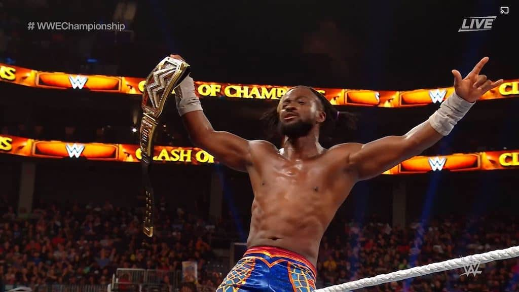 kofi kingston clash of champions