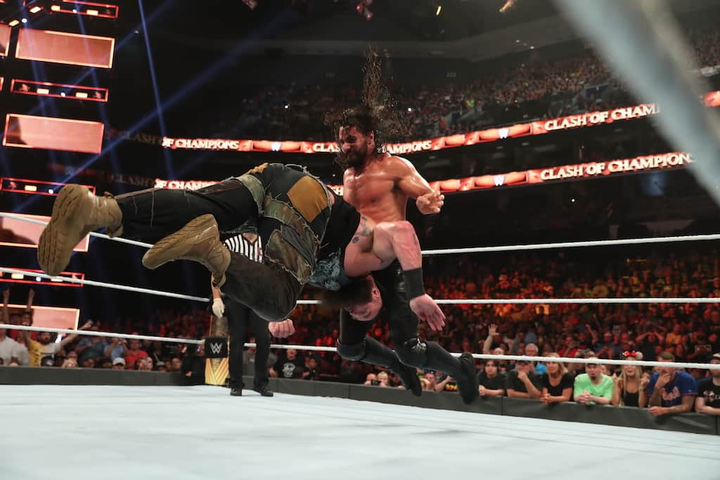 rollins strowman clash of champions