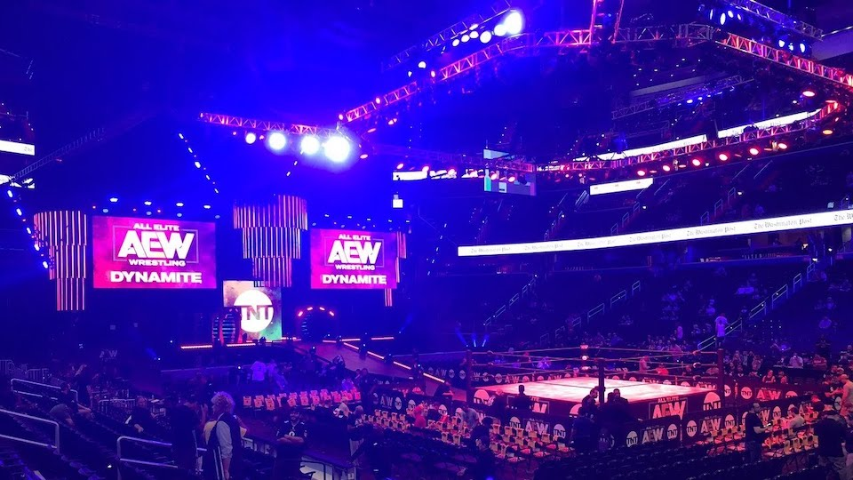 aew dynamite arena