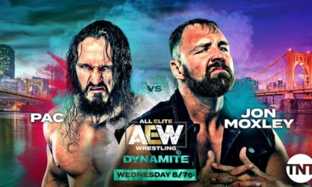 aew pac vs moxley