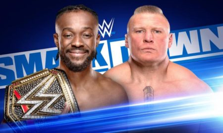 kofi kingston brock lesnar smackdown