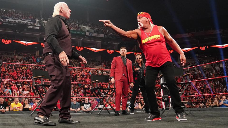 ric flair hulk hogan raw