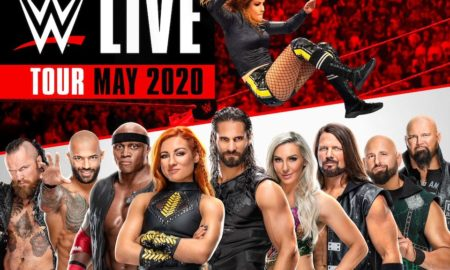 WWE AccorHotel Arena 2020