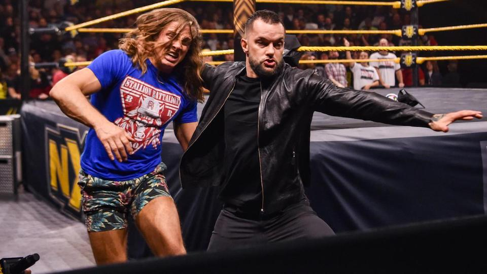 finn balor matt riddle