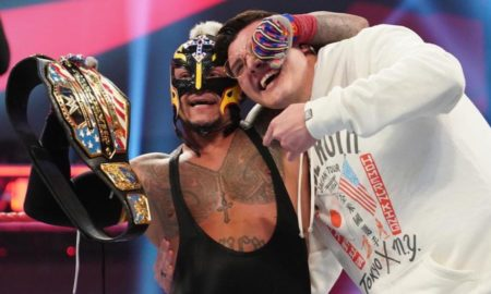 rey mysterio champion etats unis raw
