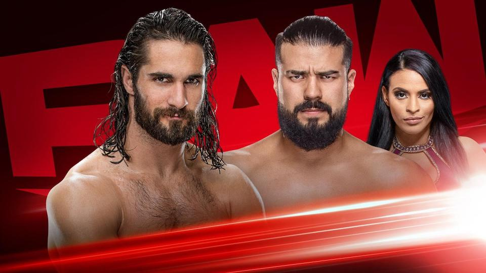 rollins andrade raw