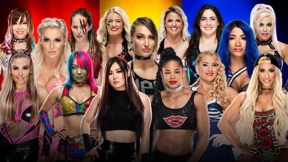 survivor series equipe feminine 2019