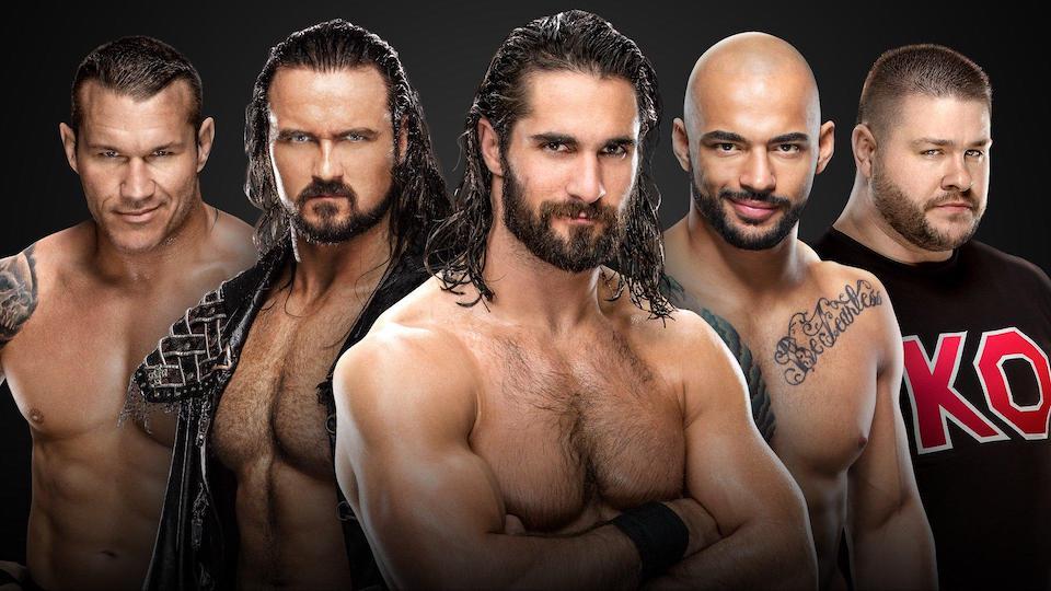 survivor series raw équipe