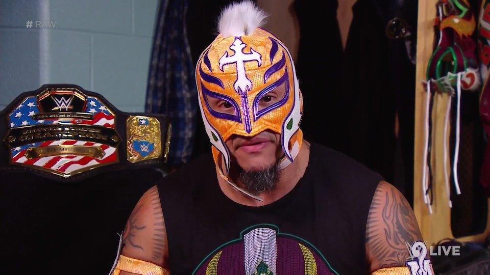 rey mysterio raw