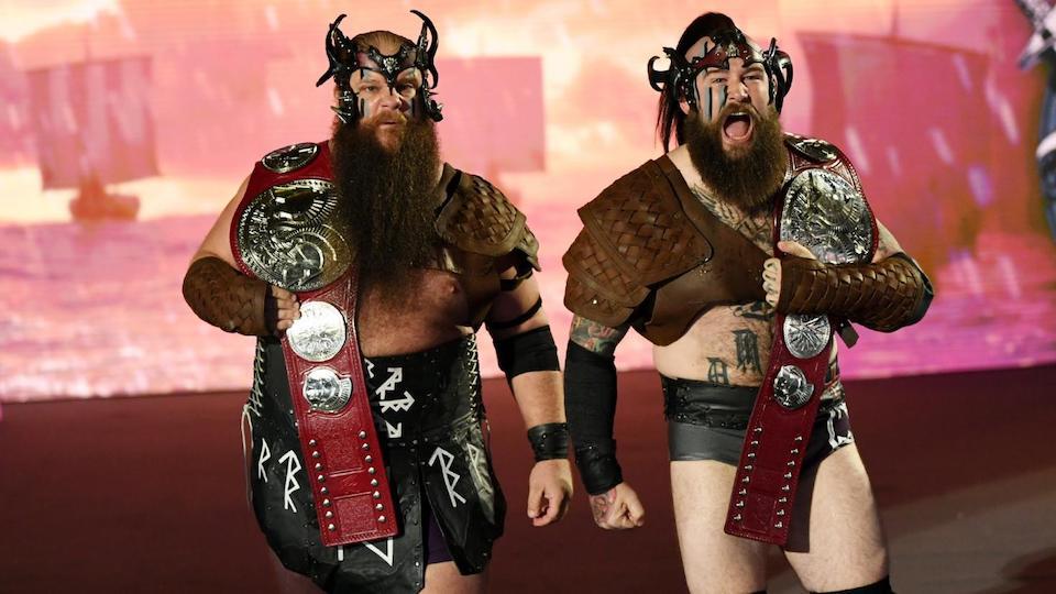 viking raiders wwe