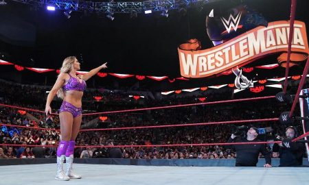 charlotte flair wrestlemania sign