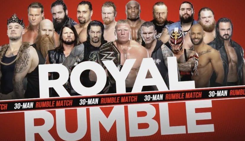 royal rumble homme 2020
