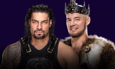 roman reigns baron corbin super showdown