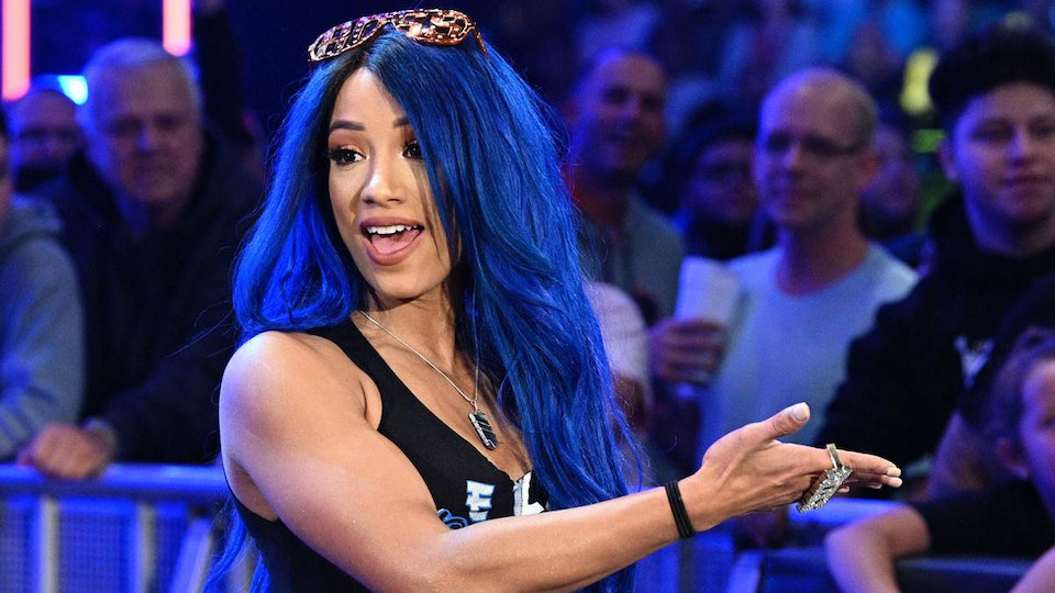 sasha banks bleue
