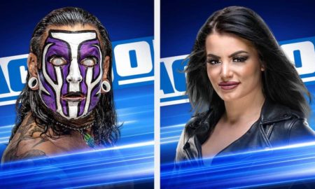 Paige Jeff Hardy smackdown