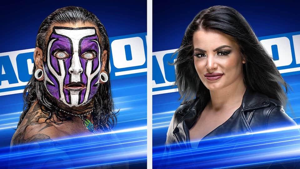 Paige Jeff Hardy smackdown