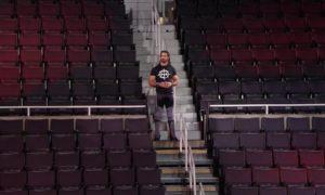 seth rollins empty arena