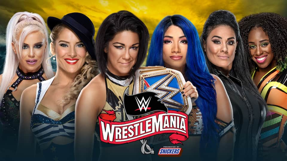 six pack bayley wrestlemania