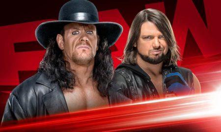 undertaker aj styles raw