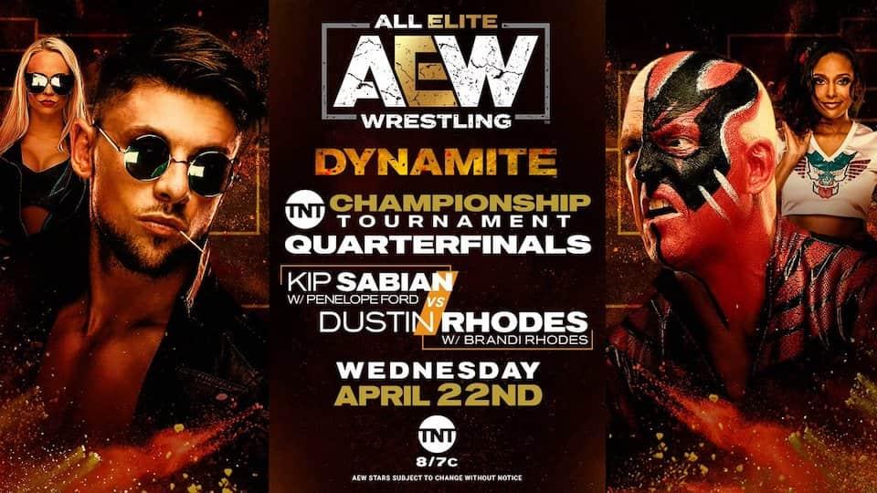 aew dynamite 22 avril