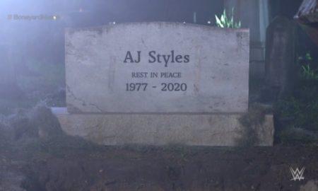 aj styles undertaker wrestlemania