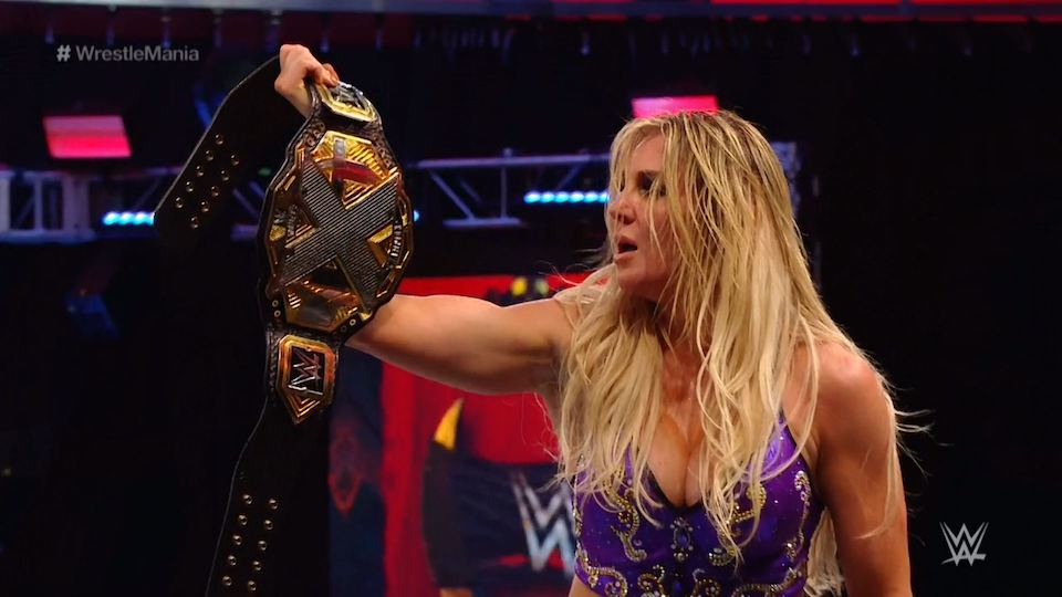 charlotte flair wrestlemania